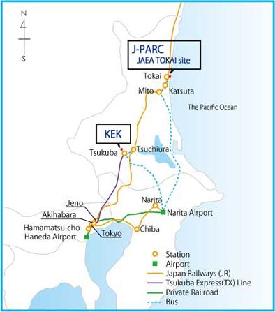 Ibaraki Japan Map.J Parc Access Map J Parc